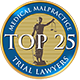 Top 25 Medical Malpractice Lawyer
